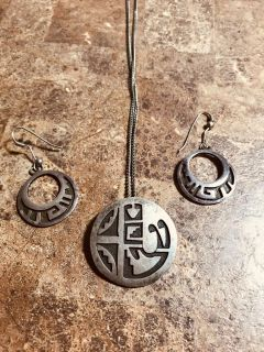True Mexican Necklace and Earring Set