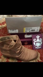 NEW IN BOX FERGIE RUCHED ANKLE-BOOTS