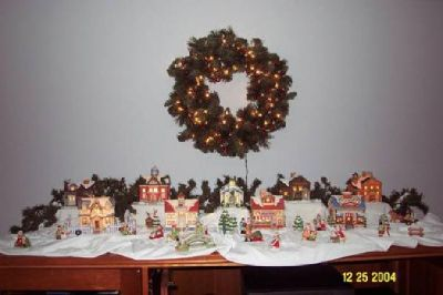 $500 OBO Home Interiors & Gifts Christmas Village