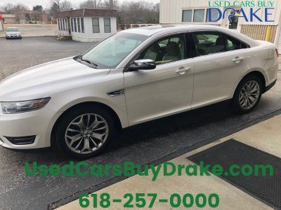 2013 Ford Taurus Limited (White)