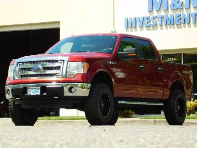 2013 Ford F-150 King Ranch (Ruby Red Metallic Tinted Clear Coat)