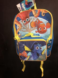 Finding Dory Backpack and Matching Lunch Bag 10.00