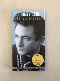 Johnny Cash the Collection, 3 CDs including 58 tracks