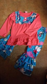 Peppa Pig ruffle outfit!