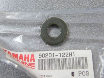 Purchase Genuine Yamaha Plate Washer ET 90201-122H1-00 90201-12677-00 NEW NOS motorcycle in Sandusky, Michigan, United States, for US $8.99