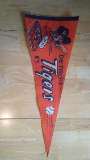 1980's Detroit Tigers Pennant
