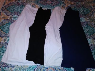 Lot of Women's 3X & 4X long sleeve shirts. One new with tags, other 3 worn a few times.