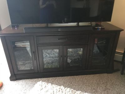 TV entertainment stand , very solid