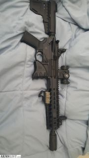 For Sale: Trade my at pistol in 7.62x39 minus the 80% receiver