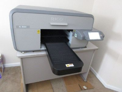 Ricoh Ri 3000 DTG Printer w/ Wagner Sprayer RTR# 9043899-01