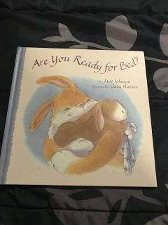 Hardcover Are You Ready For Bed Book