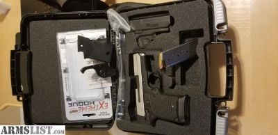 For Sale: Sig 938 2-tone laser 2 mags g10grips 500$