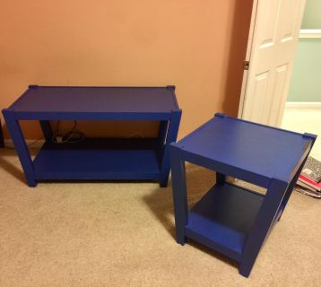 Matching Coffee Table & Side Table. Project pieces!