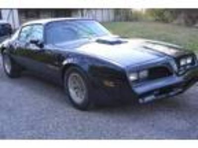 1977 Pontiac Trans Am Z 6.6L BLACK