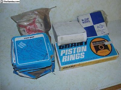 5 Free new Piston Ring sets, VW, some missing