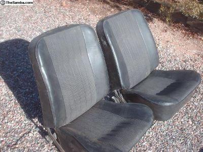 Karmann Ghia seats