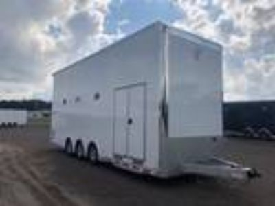 2019 Intech 28 All Aluminum Stacker Race Trailer
