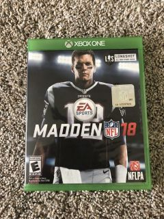 Madden 18 for XBOX ONE