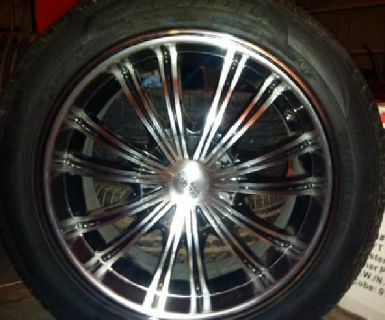 $800 OBO Sharp 17 Inch wheels and Tires $800 OBO
