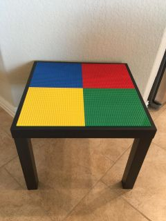 Lego Table with One Pound of Legos!