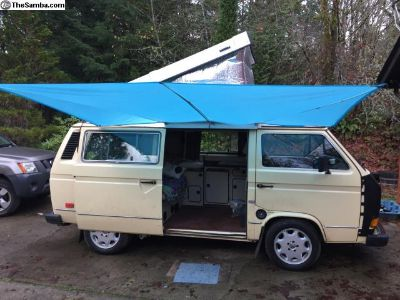 1984 Westy Camper with Subaru 2.2