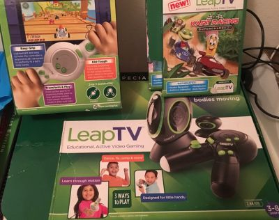 Leap TV educational active gaming system