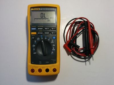Great working condition. Comes with Fluke TL75 test leads.
