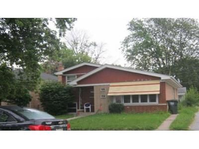 2 Bed 1 Bath Foreclosure Property in Dolton, IL 60419 - Grant St