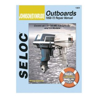 Find Selco Service Manual, Johnson-Evinrude, 1958 - 1972 motorcycle in Saint Clair Shores, Michigan, United States, for US $19.99