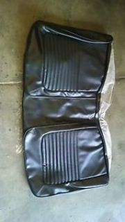 Buy Cuda seat cover convertible black hemi 1970 70 motorcycle in Des Moines, Iowa, United States, for US $75.00