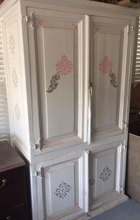 Wooden Armoire Tv Cabinet