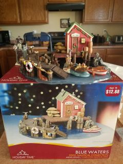Holiday Time Blue Waters with 2 extra pieces