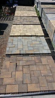 $260, Surplus Belgard Concrete Brick Pavers