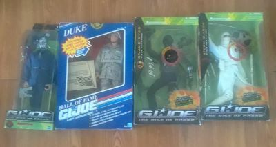 12 inch GI JOE ONLY $30 a piece or $120 for all 4