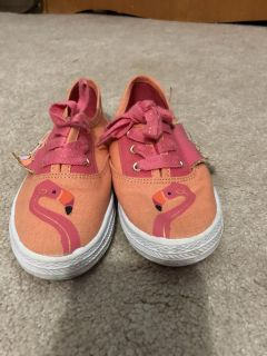 Cat and Jack flamingo shoes