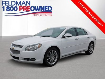 2011 Chevrolet Malibu LTZ (Summit White)