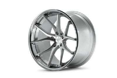 Ferrada Silver and Polished Stainless Wheels