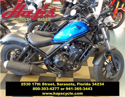 2018 Honda Rebel 500 Cruiser Motorcycles Sarasota, FL