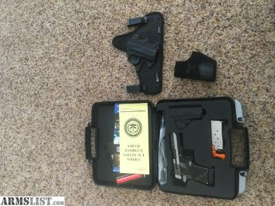 For Sale: Sig p938 equinox package