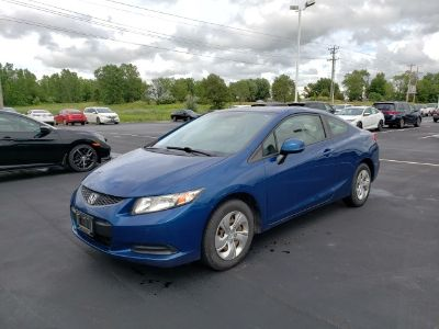 2013 Honda Civic LX (Dyno Blue Pearl)