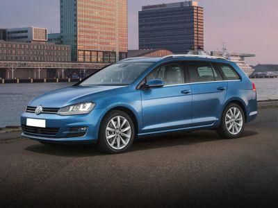2016 Volkswagen Golf SportWagen S (Blue)