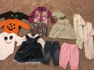 6-9 Month Fall and Winter Outfits