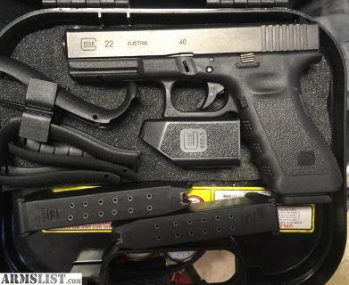 For Sale/Trade: Gen 3 Glock 22