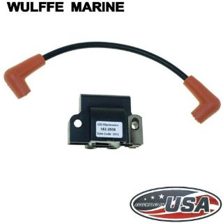 Find Ignition Coil for Johnson Evinrude 4 - 300 hp CDI 183-2508 Rplcs 18-5179 582508 motorcycle in Mentor, Ohio, United States, for US $32.95