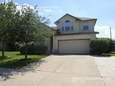 Single-family home Rental - 6803 Aquamarine Dr