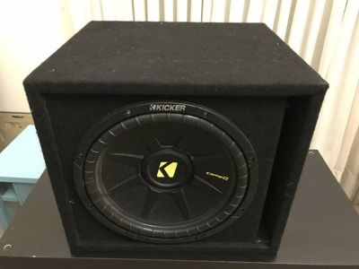 Kicker CompS 12 inch SubWoofer