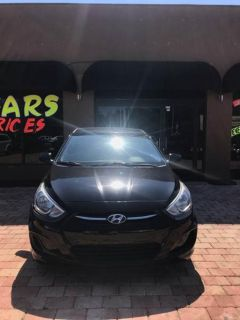 2015 Hyundai Accent GS 4dr Hatchback (Black)