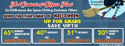 Halloween Offers by Scopehosts