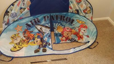 Paw Patrol twin bed tent