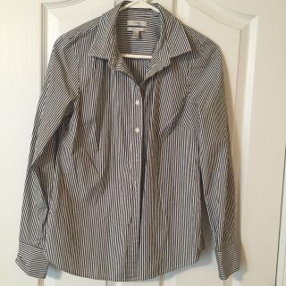 J Crew stretch Perfect button down shirt size small